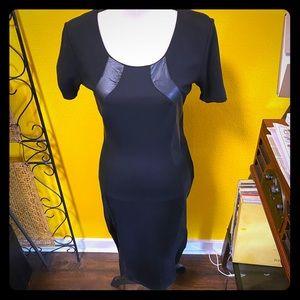 BOGO Black & Leather Dress
